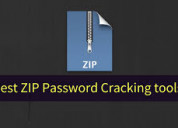 Zip file password remover