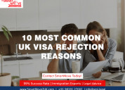 Know the 10 most common uk visa rejection reasons
