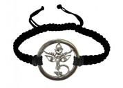 Buy maa durga bracelet with diamonds