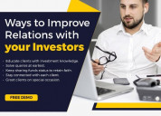 Mutual fund software for ifa plans for funds?