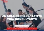 Uk sole representative visa consultants