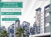 Bowrampet gated community apartments | vajradevel