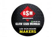 Glow sign mumbai |acrylic letters sign board manuf