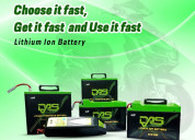 Buy the best leading lithium ion battery