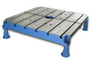 T-slotted floor / bed plates - jash metrology