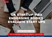 How do uk start-up visa endorsing bodies evaluate