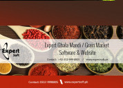 Ghala mandi grain market software | brokery | daal