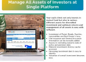 Mutual fund software for distributors support in