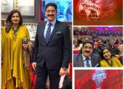 Sandeep marwah special invitee at tashkent film fe