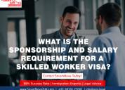 Sponsorship requirement for uk skilled worker visa