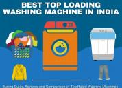 Best top loader washing machine brands in india