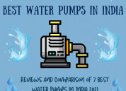 Best water motor pump for home