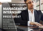 Management internship in switzerland