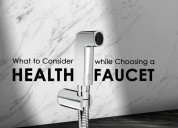 Amazing benefits of health faucet
