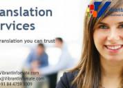 Language translation services |translation company