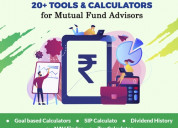 Mutual fund software is complicated calculations