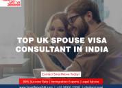 Best uk spouse visa consultants in india