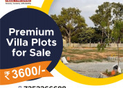 Premium villa plots for sale at budigere cross