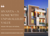 House for sale in puzhal