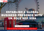 Start a business in the uk with sole rep visa