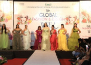 5th global fashion and design week added colours t