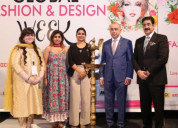 Enthusiasm brought by 5th global fashion and desig