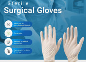 Latex surgical gloves powder free special offer