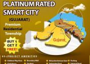 Buy 1 get 2 plots free in dholera  smart city