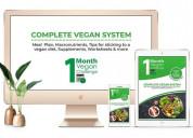 1 month vegan challenge 2.0