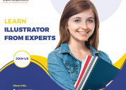 Join certificate training to learn illustrator fro