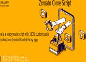 Zomato clone app
